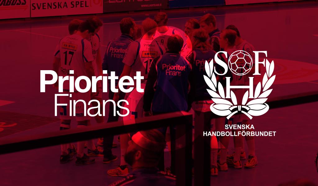 Prioritet Finans & svensk handboll