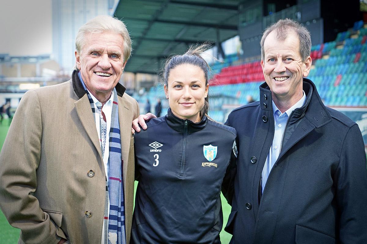 Prioritet Finans ingår treårigt sponsoravtal med Kopparbergs/Göteborg FC
